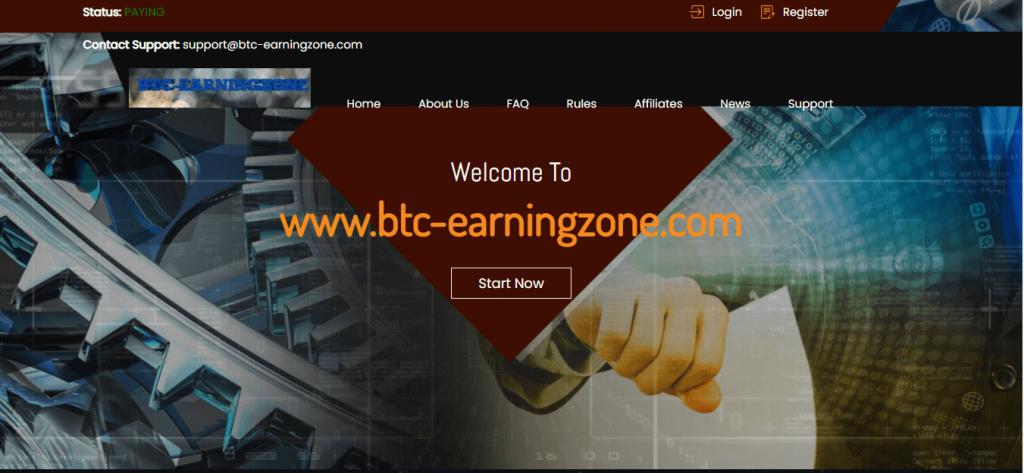 BTC-Earningzone Review, BTC-Earningzone Company