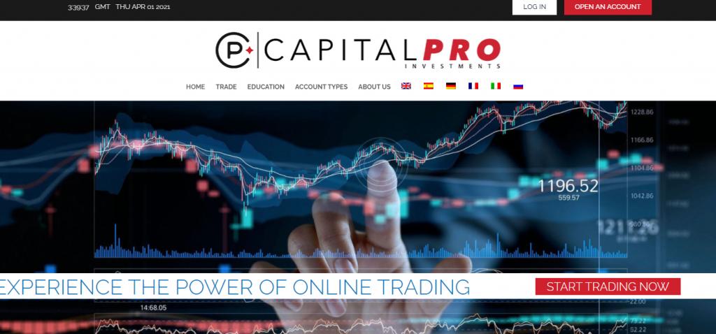 CapitalPro-Inv.com Review, CapitalPro-Inv.com Company