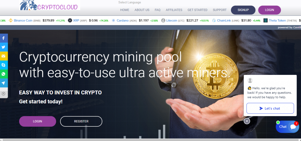 Crypto Cloud Mine Review, Crypto Cloud Mine Company