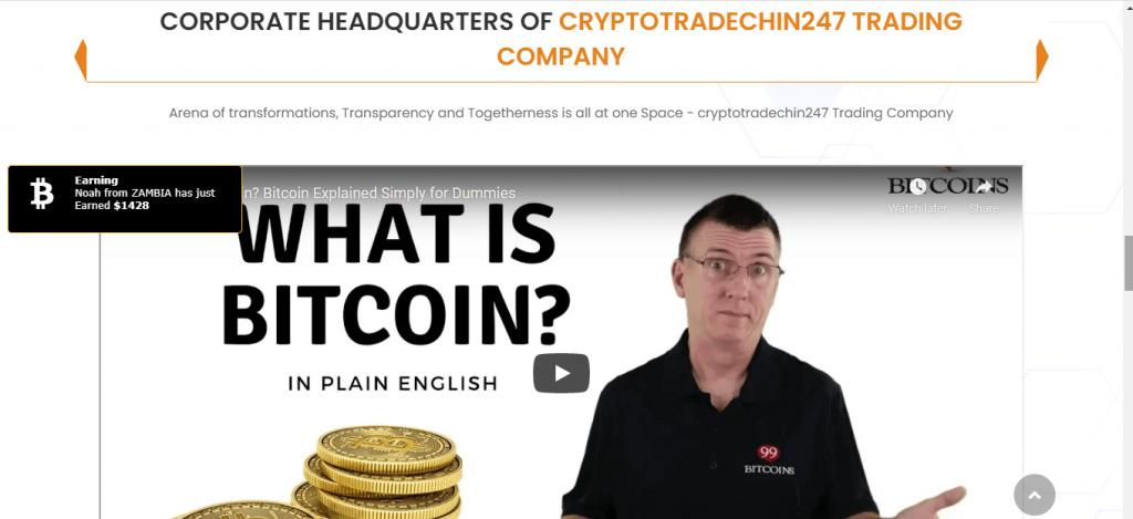 CryptoTradeChin247.com Review, CryptoTradeChin247.com Platform