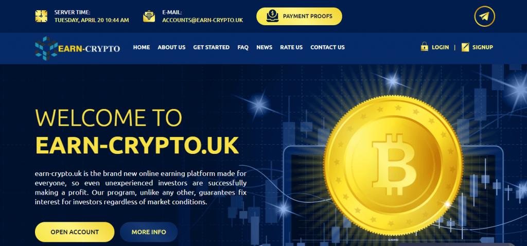 Earn-Crypto.uk Review, Earn-Crypto.uk Company