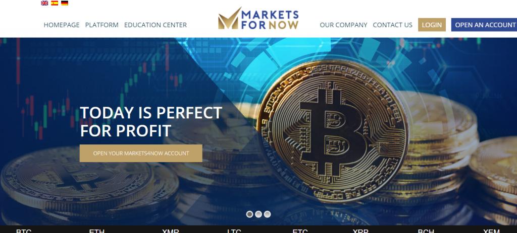 Revisão da Markets4Now, Markets4Now Company
