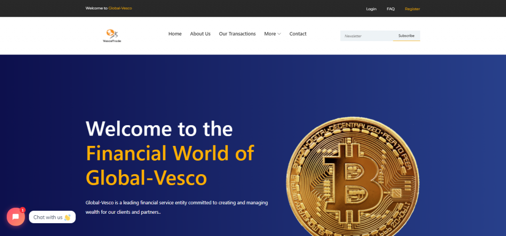 Global-Vesco Review, Global-Vesco Company