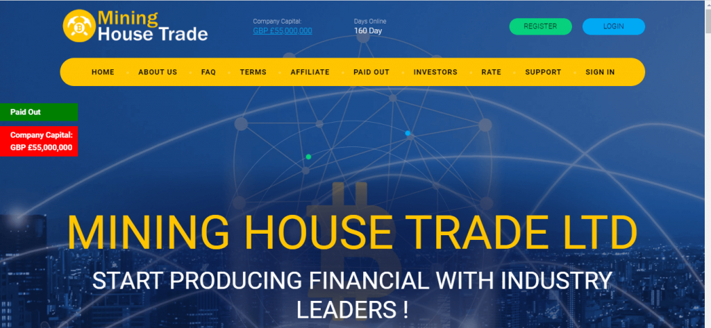 Mining House Trade Review, Mining House Trade Company