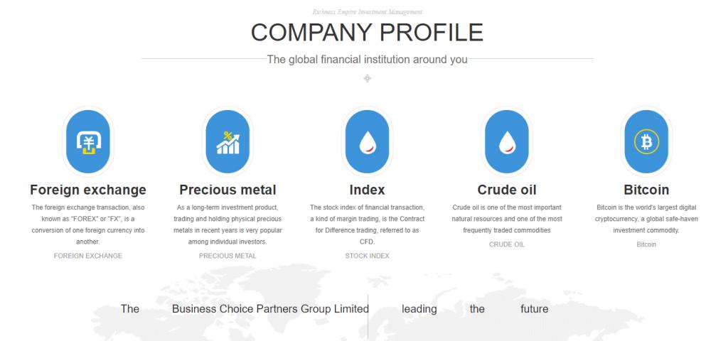 Richnessep.com Review, Richnessep.com Trading Conditions