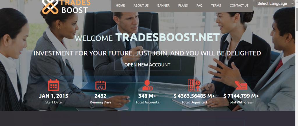 Przegląd TradeBoost, firma TradeBoost