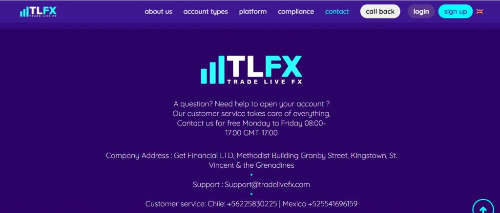 Tradelivefx.com Scam Review, Tradelivefx Contact