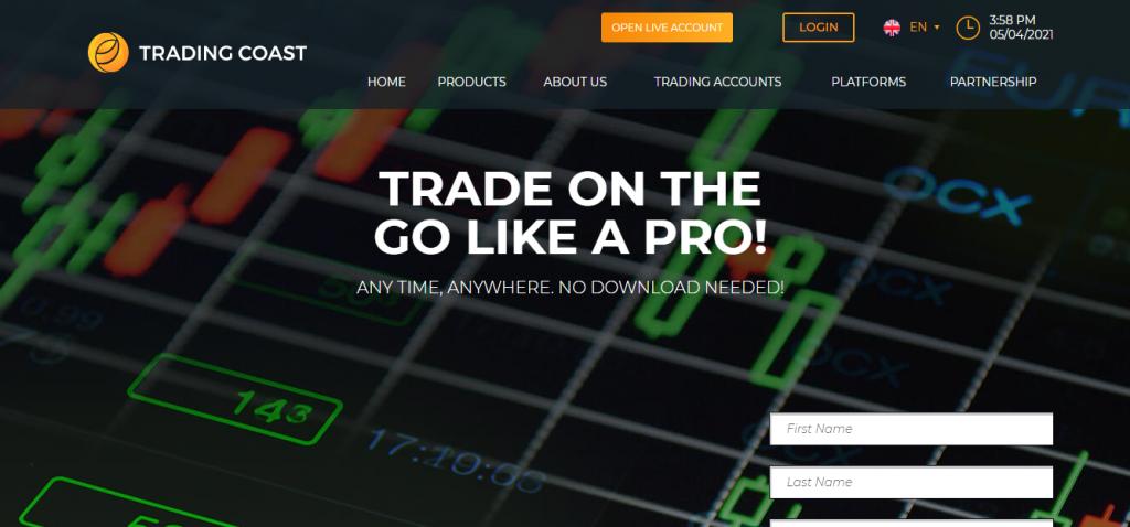 Recensione di Trading-Coast, Azienda Trading-Coast.com