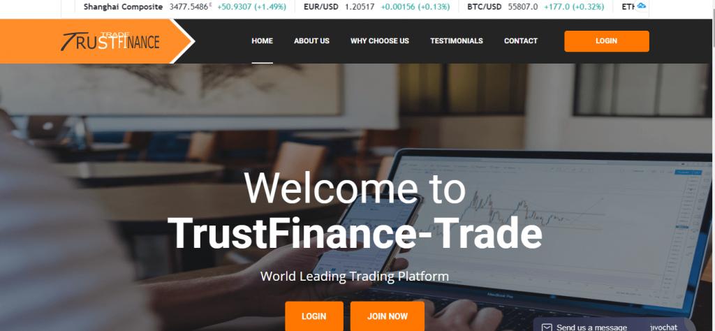 TrustFinance-Trade Review, TrustFinance-Trade Company