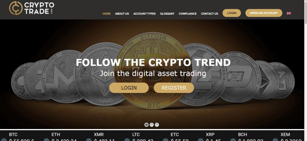 CryptoTradeCorp Review, CryptoTradeCorp Company