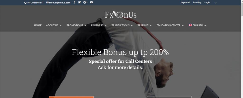 Fxonus.com Review, Fxonus.com Company
