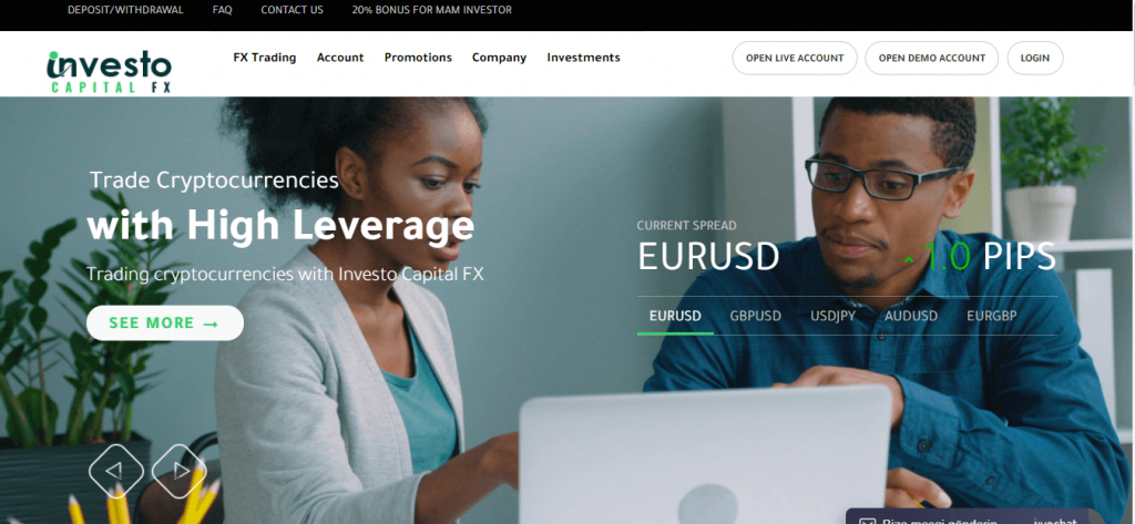 Investo CapitalFX Review, Investo CapitalFX Company