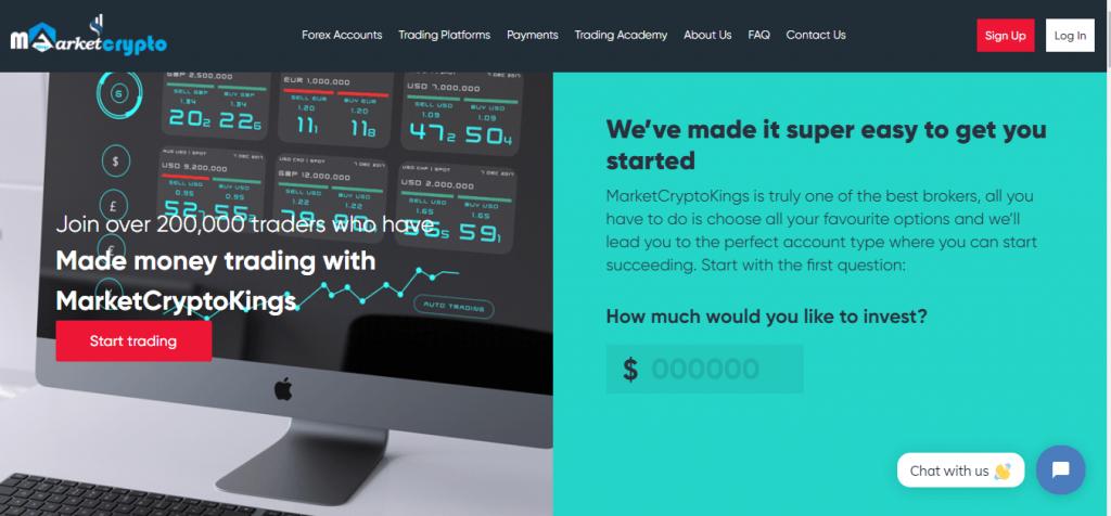 MarketCryptoKings Review, MarketCryptoKings Company