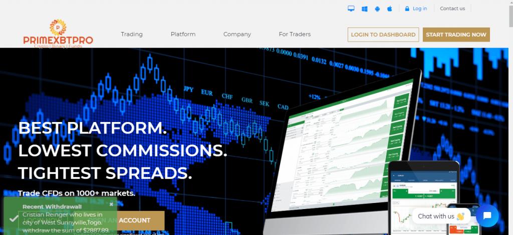 Primexbtpro Review, Primexbtpro Company