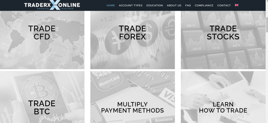 TradeXonline.com Review, TradeXonline.com Trading Conditions