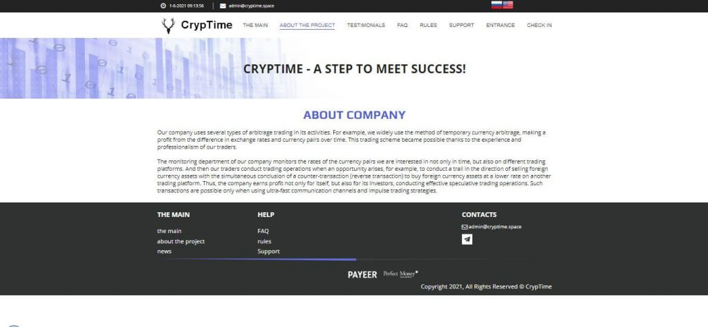 CrypTime Review