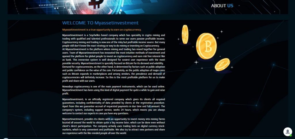 Myassetinvestment Review
