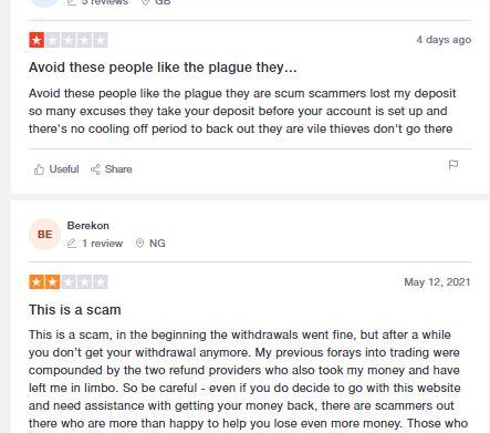 Commentaires des utilisateurs de Capital Trade