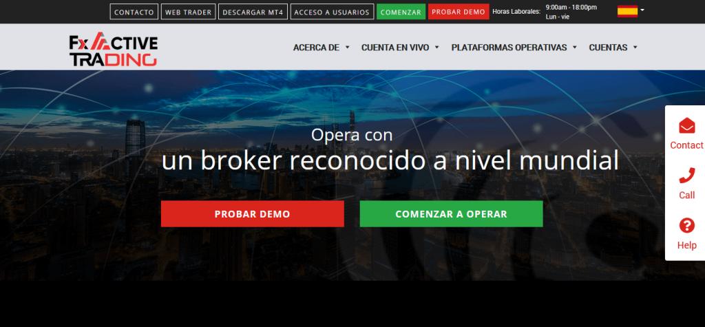 Revisión de FX Active Trading, FX Active Trading Company