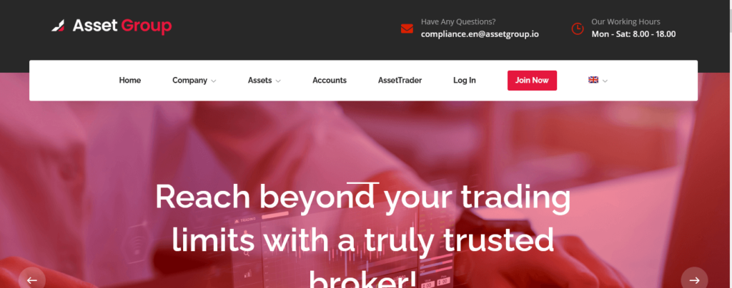 Asset Group Review, Asset Group Company