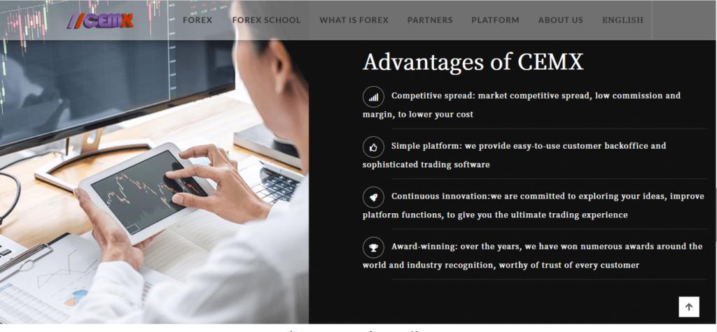 CEMX-international.com Review, CEMX-international.com Platform