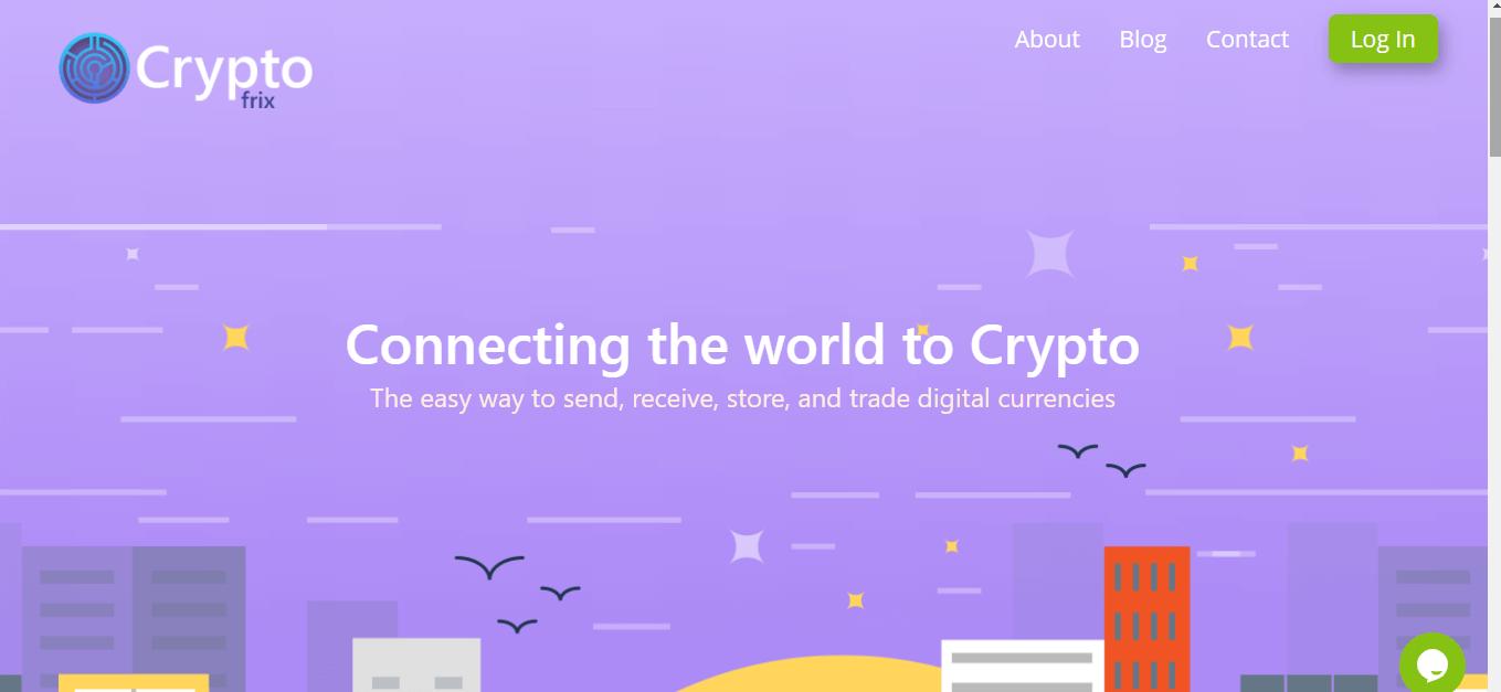 Revisión de Cryptofrix, Cryptofrix Company