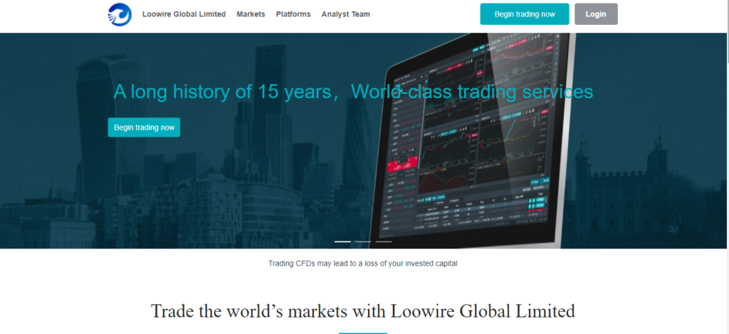 Loowire Global Limited Review, Loowire Global Limited Company