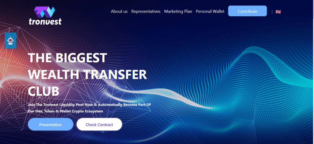 Tronvest Review, Tronvest Company