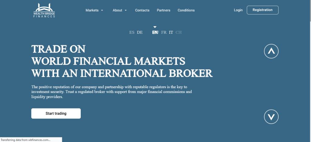 Recenzja Wbfinances.com, Platforma Wbfinances.com