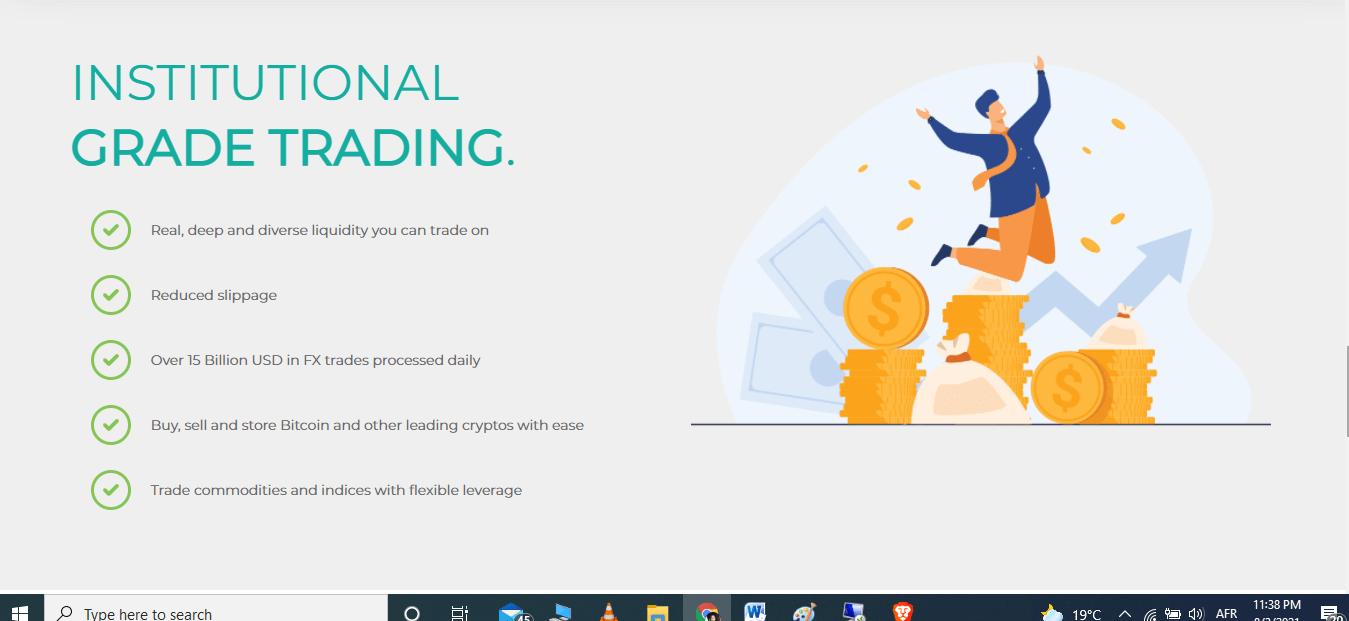 Finexo.io Features, Finexo.io Features