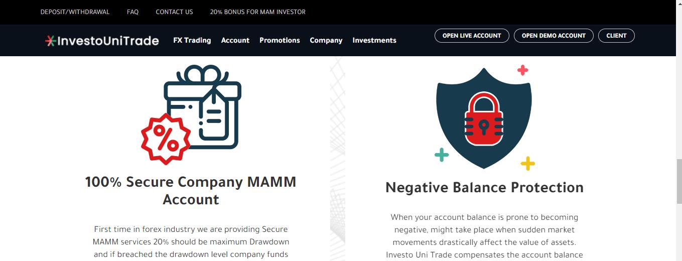 FXInvesto.com Review, FXInvesto.com Trading Condition