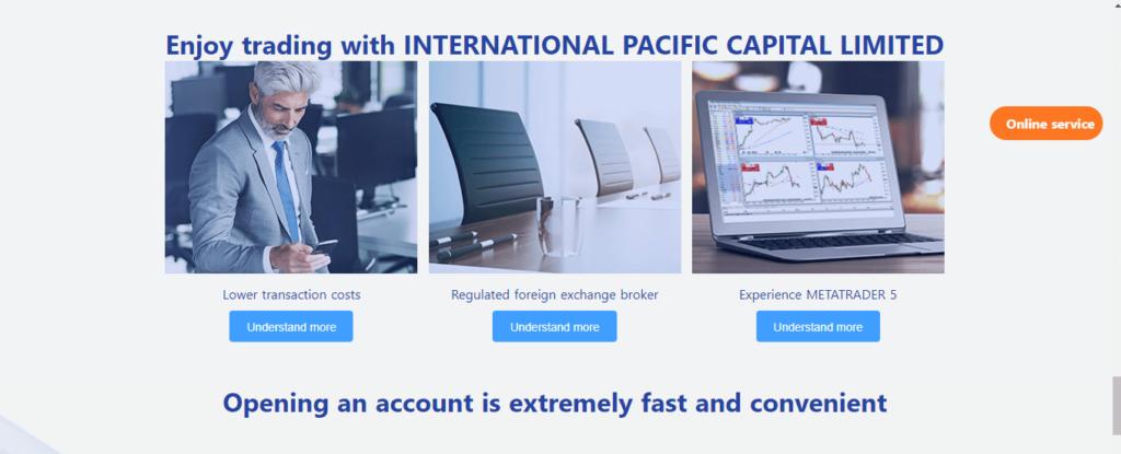 INPCforex.com Review, INPCforex Features