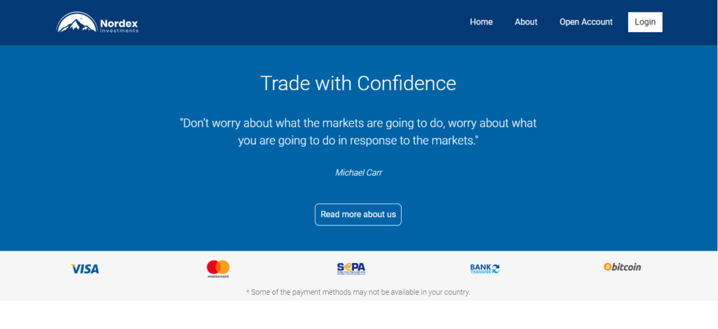 Nordexinvest.com Review, Nordexinvest.com Withdrawal