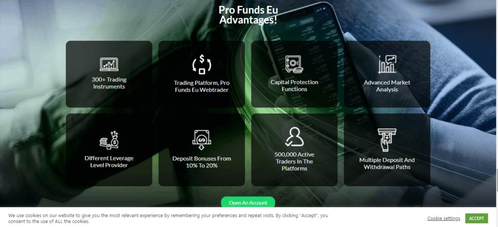 مراجعة Profundseu.com ، شروط تداول Profundseu.com