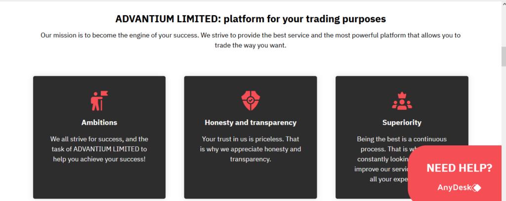 Advantiumlimited.com revisa las características de Advantiumlimited.com