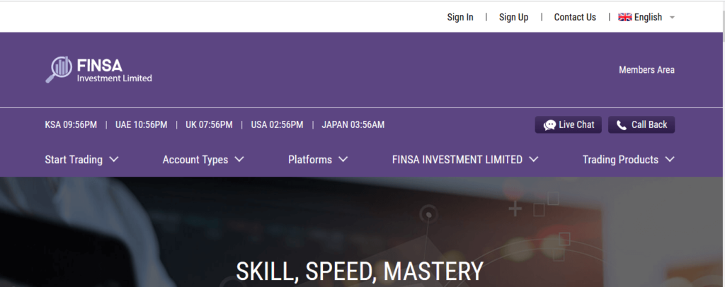 Finsa Investment Limited Review, Finsa Investment Limited Review Company