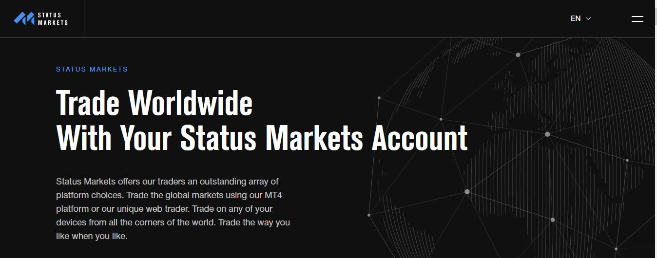 Status Markets Review, Status Markets Company