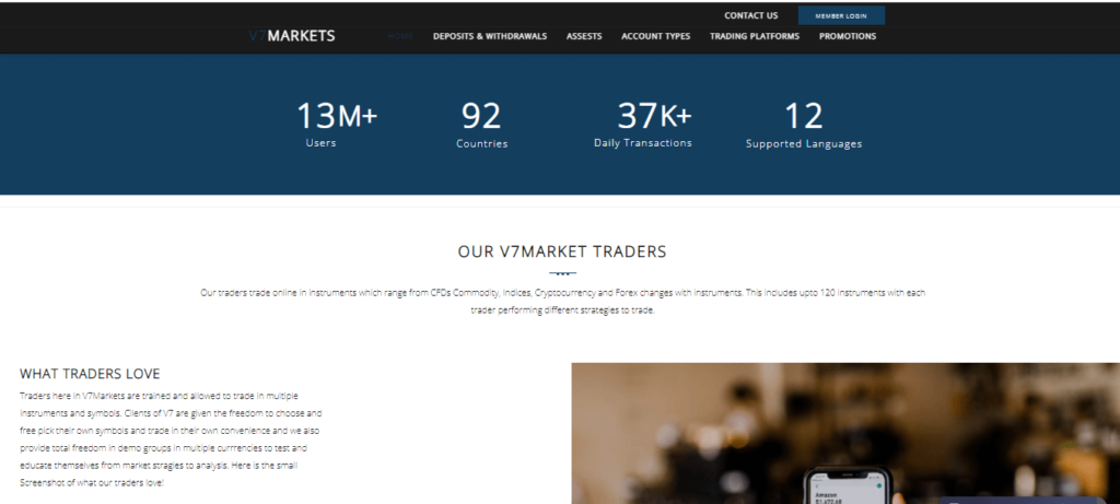 V7 Markets Review