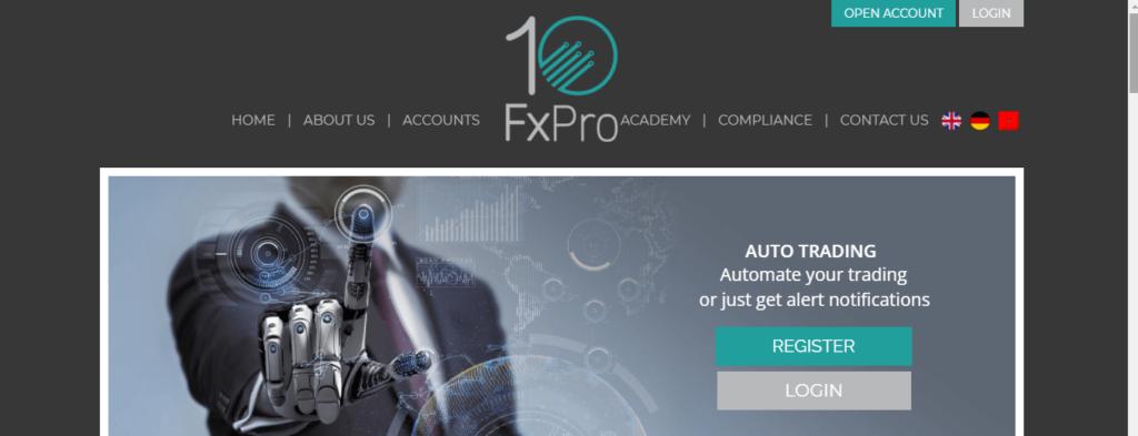 10FxPro Review, 10FxPro Company